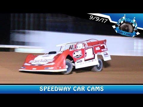 #1 JT Seawright - Super Late Model - 9-9-17 Fort Payne Motor Speedway - In Car Camera