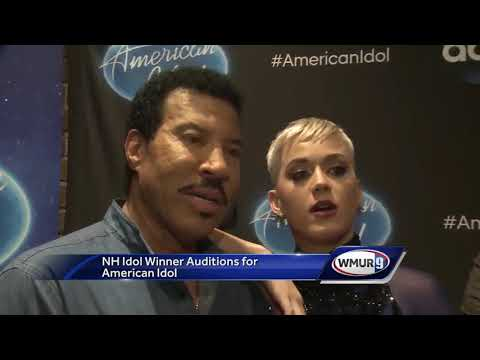 Sean McDonald speaks to Katy Perry, Lionel Richie, and Luke Byran at American Idol auditions
