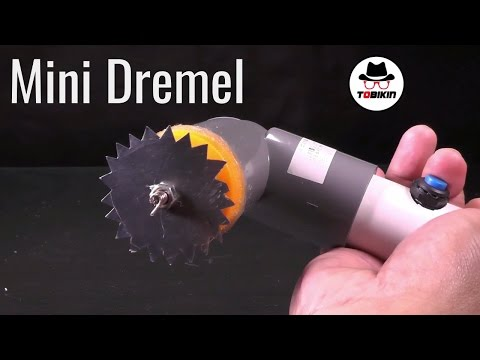 DIY Homemade Dremel (Hand Mini Circular Saw)