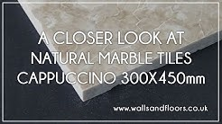 Cappuccino Marble Tiles 300x450mm - Product Video