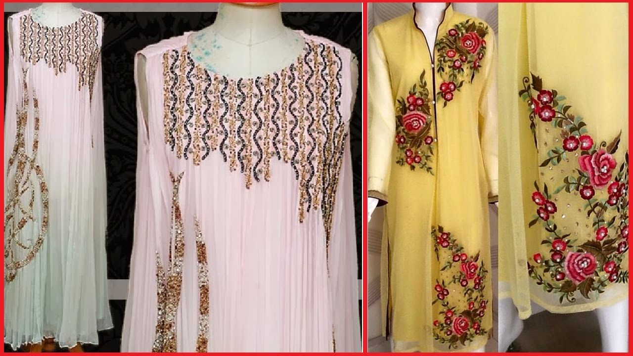 Latest stylish unstitched sami stitched embroidered suits