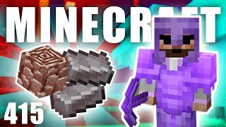 FARMA NA NETHERITE! 🧨 | Minecraft Let's Play #415