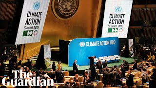 World leaders attend 2019 UN climate action summit  watch live