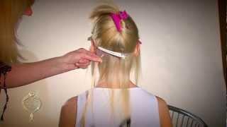 Наращивание волос на кератин горячий метод