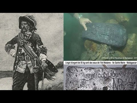 Pirate Treasure Discovered Off The Coast Of Madagascar
