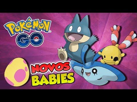 ESTÁ FÁCIL CHOCAR OS NOVOS BABIES? -  Pokémon Go | Capturando Shiny (Parte 35) thumbnail