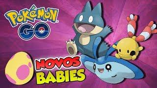 ESTÁ FÁCIL CHOCAR OS NOVOS BABIES? -  Pokémon Go | Capturando Shiny (Parte 35)