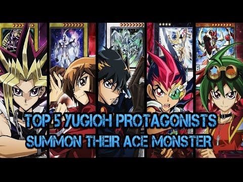 TOP 5 YUGIOH PROTAGONISTS SUMMON THEIR...