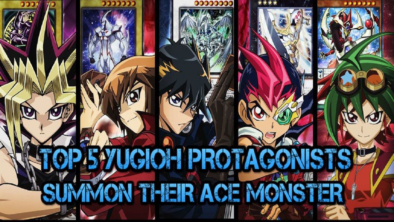 TOP 5 YUGIOH PROTAGONISTS SUMMON THEIR ACE/BOSS MONSTER ...