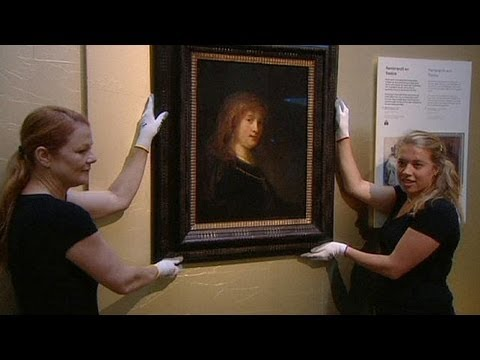 Portrait of Rembrandt's wife on show at The Amsterdam Museum