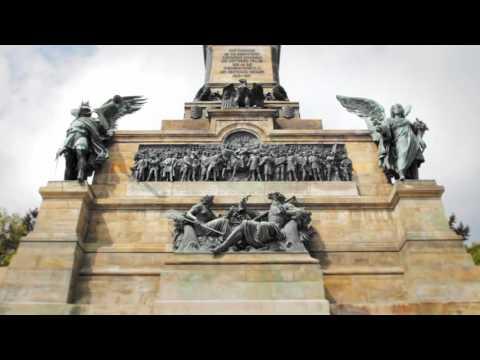 Das Niederwalddenkmal bei Rüdesheim am Rhein