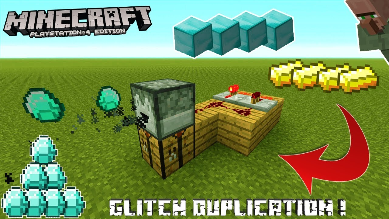 GLITCH DE DUPLICATION EN TU62 SUR MINECRAFT PS3/PS4 ET XBOX 360/ONE !!