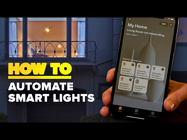 How to turn your smart lights on automatically when you get home