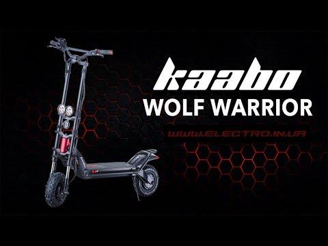 Обзор и распаковка Kaabo Wolf Warrior 11. Цена электросамоката в Украине