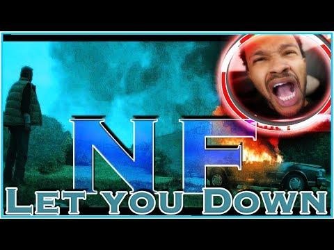 EPIC PLOT TWIST! NF - LET YOU DOWN - BEST REACTION