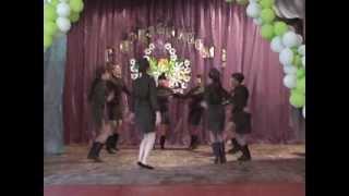 Старшая группа коллекитва спортивно эстрадного танца.