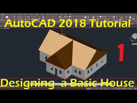 autocad 2018 tutorial for beginners pdf
