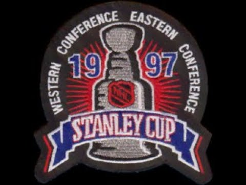 NHL STANLEY CUP FINALS 1997 - Game 3 - Detroit Red Wings @ Philadelphia Flyers - SWEDISH TV