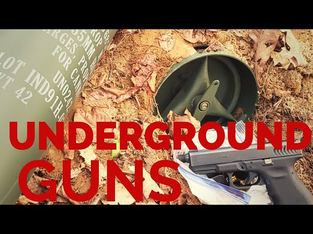Burying Guns For SHTF? The Perfect Solution. You'll Wanna See This
