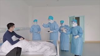 'Cheer up!' Medical staff in Hubei encourage coronavirus infected patients