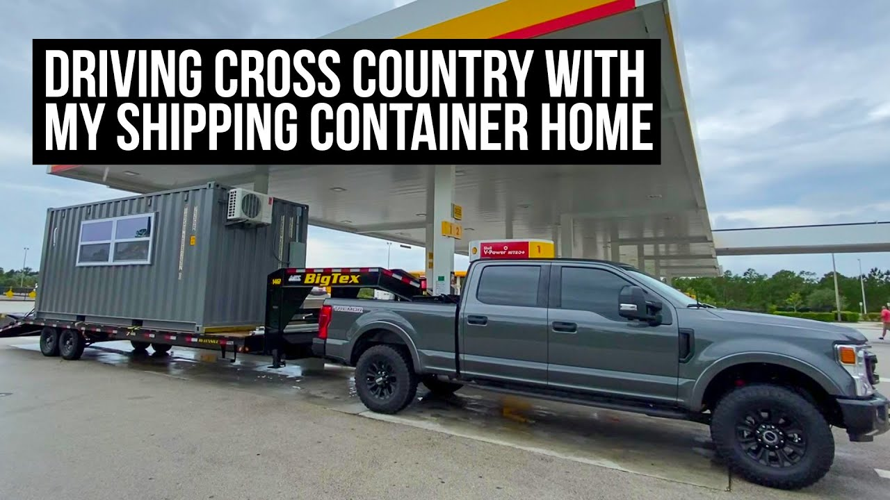 Cross Country with my SHIPPING CONTAINER HOME | Update & New Projects