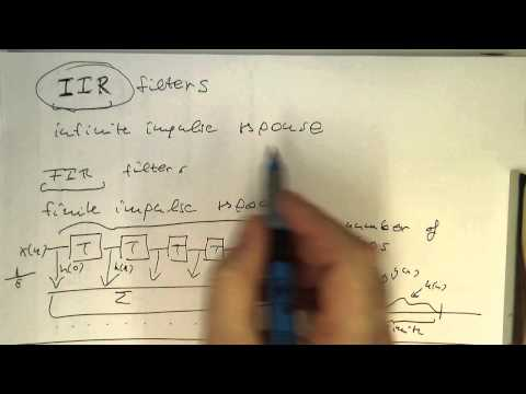 IIR filters: introduction (0000)