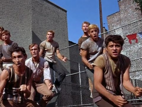 West Side Story  Jet Song   Dance Scene  50th Anniversary HD