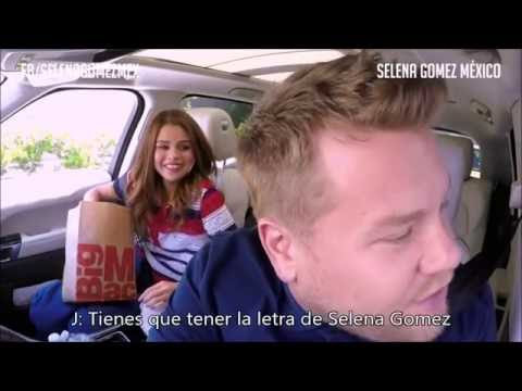 Carpool Karaoke Selena Gomez subtitulado en español (PT. 2)   Selena Gomez México