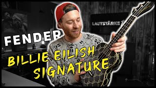 Konzert Ukulele - Fender Billie Eilish Signature - inkl. Vergleich zu Jack and Danny CW-4