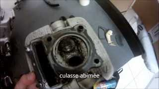 démontage moteur suzuki 125 tu-x