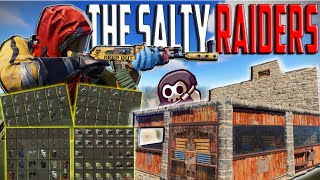 DOMINATING SALTY STREAM SNIPERS trying to RAID US - (ft. Welyn) || RUST