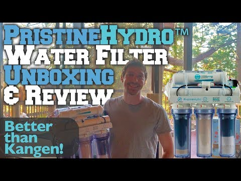 PristineHydro™ Water Filter Unboxing & Review