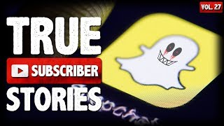 Snapchat & Halloween Maniacs | 10 True Scary Subscriber Horror Stories (Vol. 27)