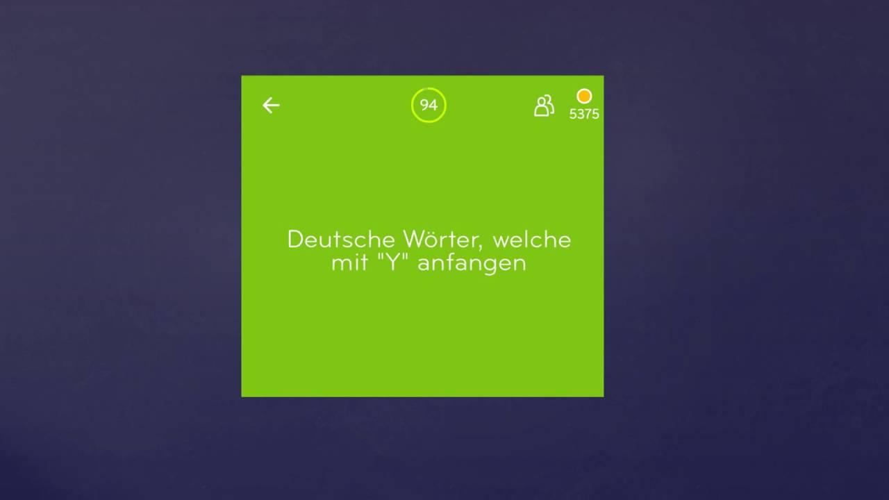 94 Lösung Deutsche Wörter Welche Mit Y Anfangen