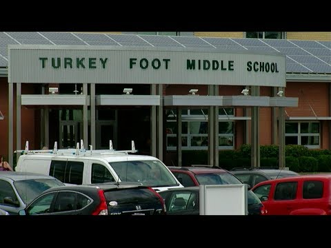 Employee brought loaded gun to Turkey Foot Middle School