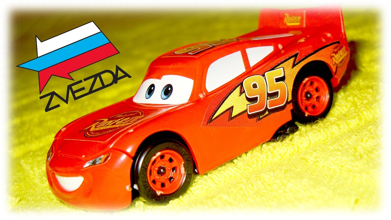 cars for kids video cars lightning mcqueen model kit zvezda