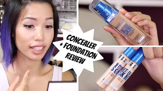 BRAND NEW | MAYBELLINE SUPERSTAY BETTER SKIN FOUNDATION + CONCEALER REVIEW