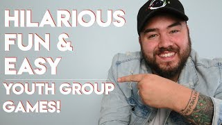 YOUTH GROUP GAMES | 4 New Games To Try!