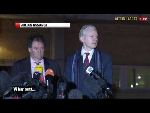 Wikileaks - Julian Assange and Mark Stephens challenges the prosecutor Marianne Ny