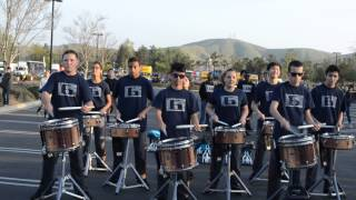 Chino Hills High School Drumline Double Beat 2014