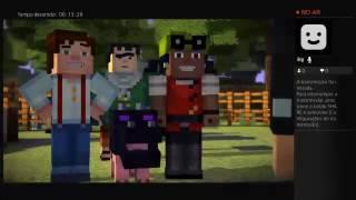 Minecraft Story Mode PS4 Ao Vivo