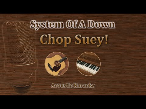 Chop Suey - System of a Down (Acoustic karaoke)