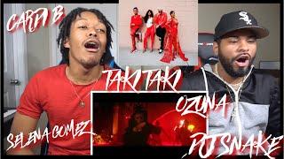 DJ Snake - Taki Taki ft. Selena Gomez, Ozuna, Cardi B | FVO REACTION