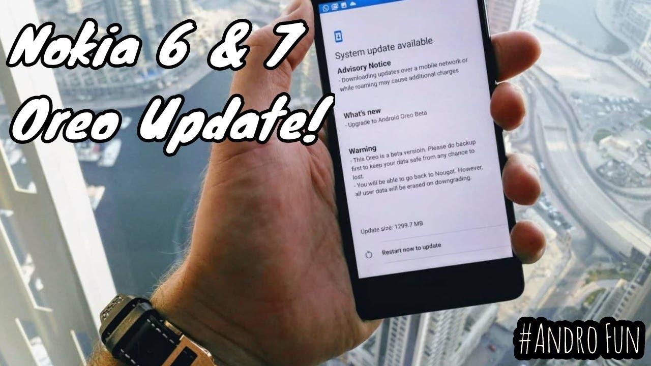 Nokia 6 & 7 OREO UPDATE, Moto Z Official OREO LOOK! - #technews