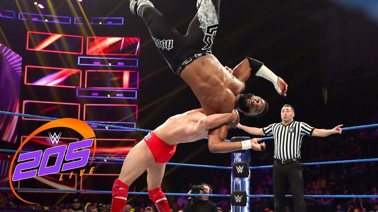 Alexander vs. Lorcan - Cruiserweight Title Tournament Semifinal: WWE 205 Live, Mar. 12, 2019
