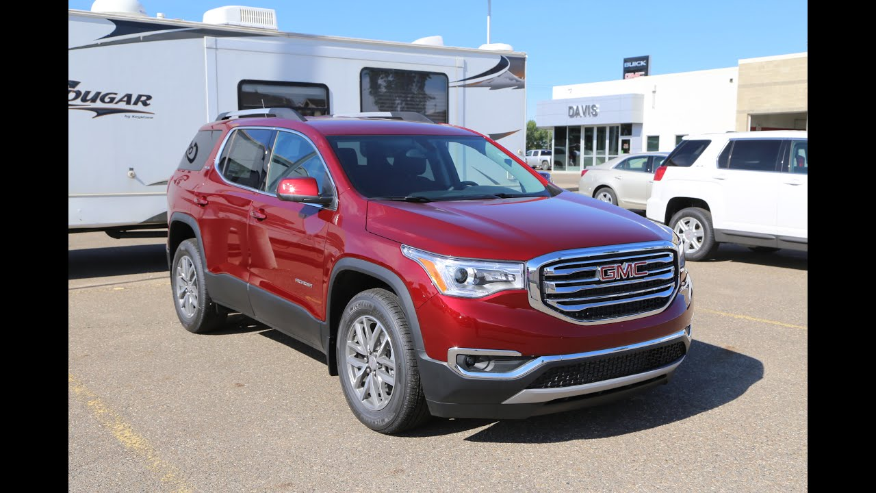 brand new 2017 gmc acadia sle 2 for sale in medicine hat ab youtube. Black Bedroom Furniture Sets. Home Design Ideas