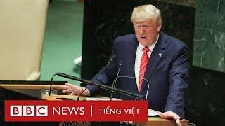 Tổng thống Trump: 'Chủ nghĩa xã hội 'phá hủy thế giới' - BBC News Tiếng Việt