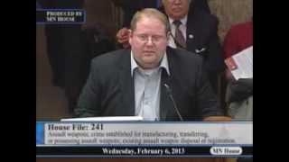DPMS testimony against HF241