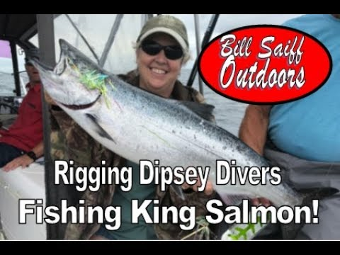 Dipsey Divers For Kings! - How To Rig Them W/ Bill Saiff III