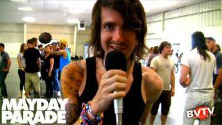 Mayday Parade Interview at Warped Tour 2010 - BVTV